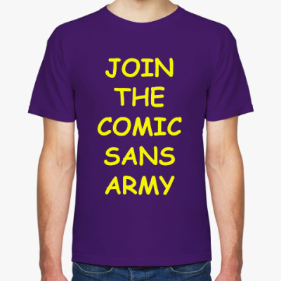 Join The Comic Sans Army