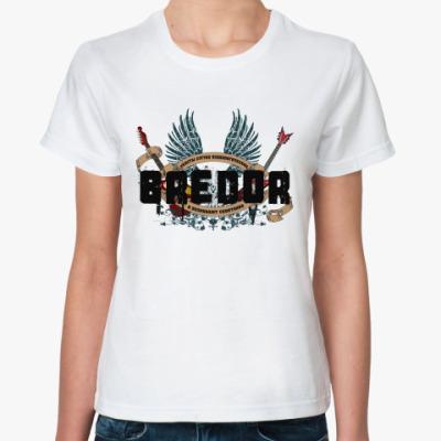 Классическая футболка BREDOR