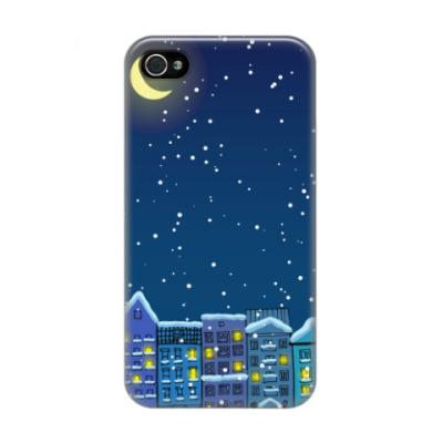 Чехол для iPhone 4/4s Вечер