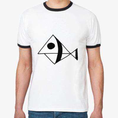 Футболка Ringer-T Рыба