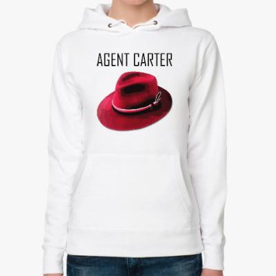 Женская толстовка худи Agent Carter