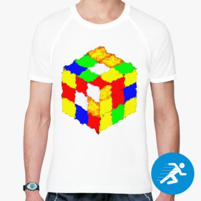 Спортивная футболка Кубик Рубика