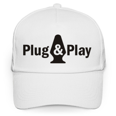 Кепка бейсболка Plug & play