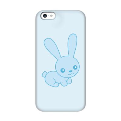 Чехол для iPhone 5c Зайка