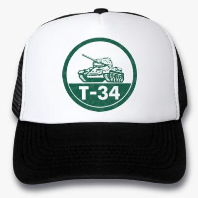 Кепка-тракер Танк Т-34