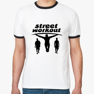 Футболка Ringer-T  Street Workout