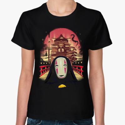 Женская футболка Унесенные призраками Миядзаки