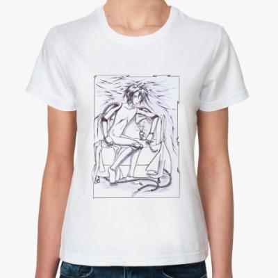 Классическая футболка Киберпанк