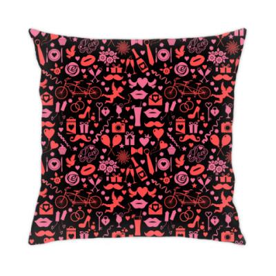 Подушка День святого Валентина