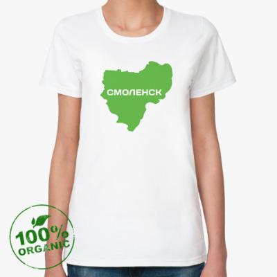 Женская футболка из органик-хлопка Смоленск и Смоленская область