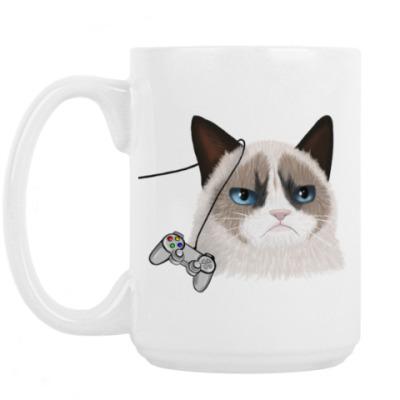 """Кружка Большая кружка """"Grumpy cat"""""""