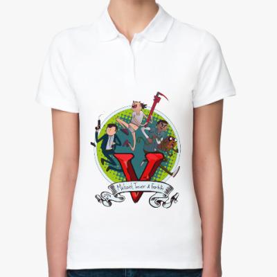 Женская рубашка поло Grand Theft Auto