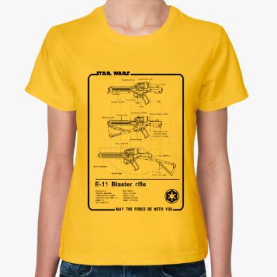 Женская футболка Star wars (звёздные войны)