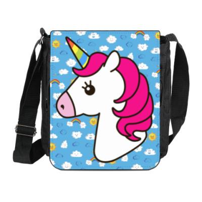 Сумка на плечо (мини-планшет) Unicorn
