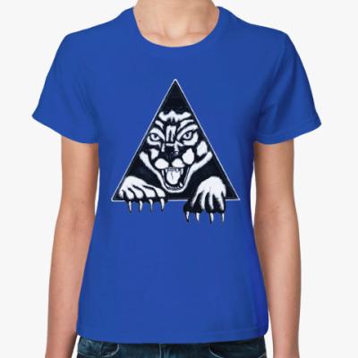 Женская футболка Пантера