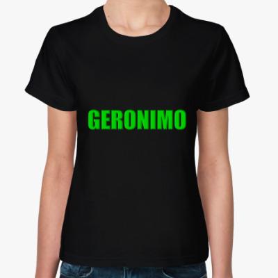 Женская футболка 11 Доктор Кто GERONIMO