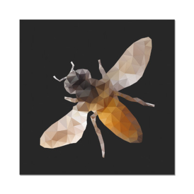 Наклейка (стикер) Пчела / Bee