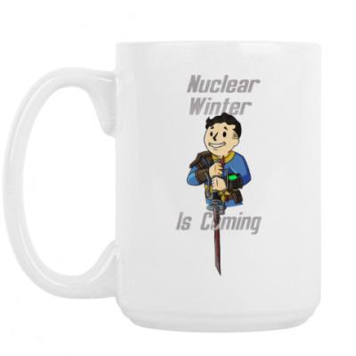 Кружка Ядерная Зима Близко