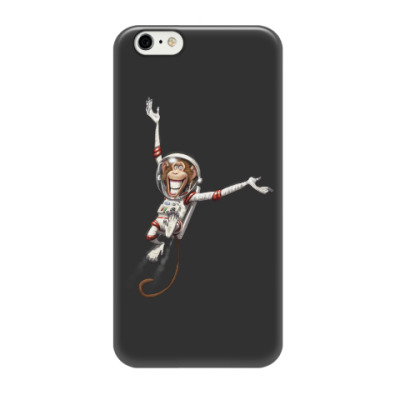 Чехол для iPhone 6/6s Обезьянка Космонавт