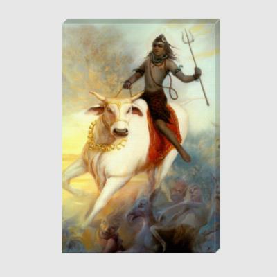 Холст Бог Шива