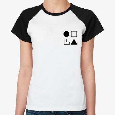 Женская футболка реглан  СЛЭ (Жуков)