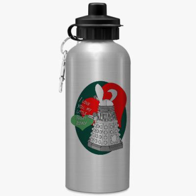 Спортивная бутылка/фляжка Далек зайчик