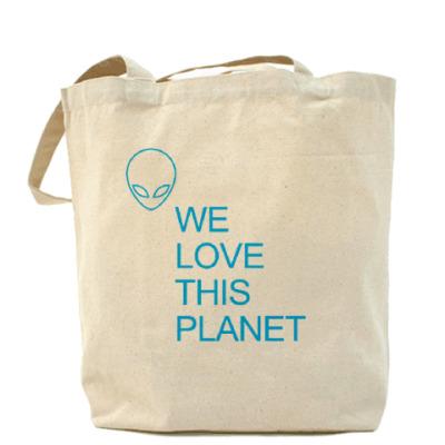 Сумка Мы любим эту планету