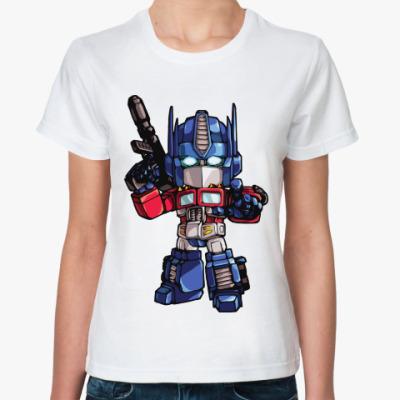 Классическая футболка Optimus Prime