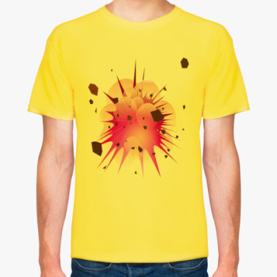 Футболка Взрыв мужская футболка