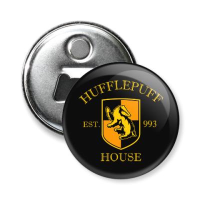 Магнит-открывашка Hufflepuff