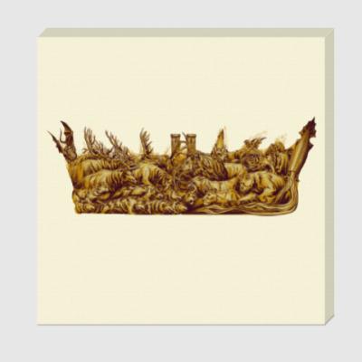 Холст Игра Престолов: Корона