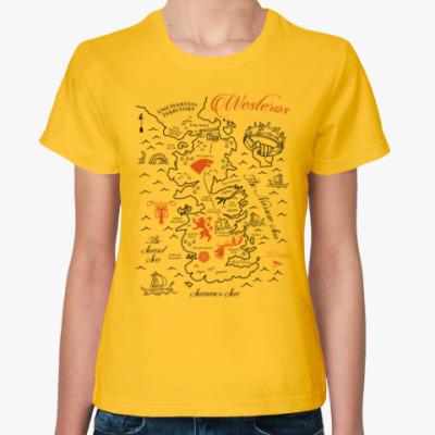 Женская футболка Вестерос