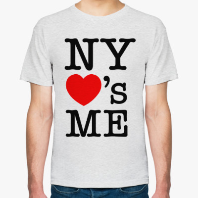 Футболка New York Loves Me