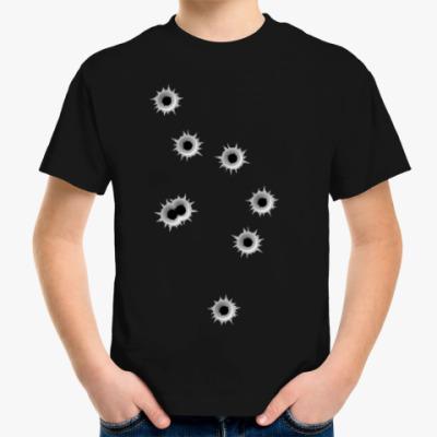 Детская футболка Дырки от пуль
