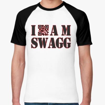 Футболка реглан I AM SWAGG