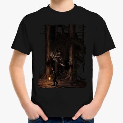 Детская футболка Ночная тварь из леса