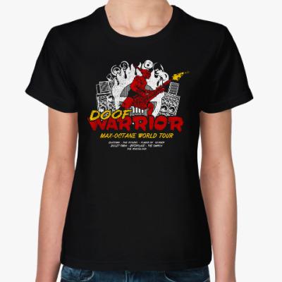 Женская футболка Doof Warrior