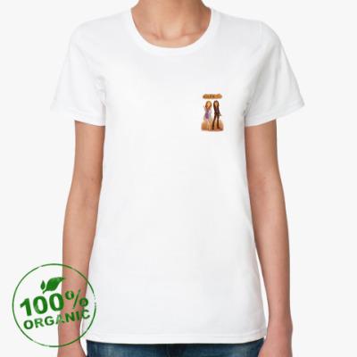 Женская футболка из органик-хлопка Rizolli