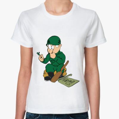 Классическая футболка Защитник
