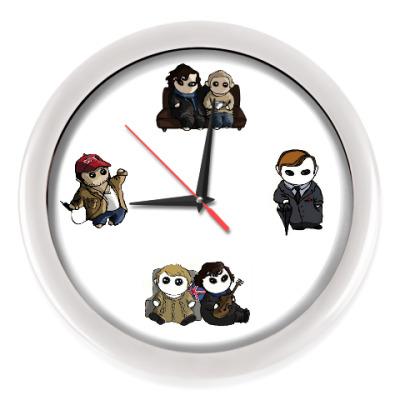 Настенные часы Sherlock