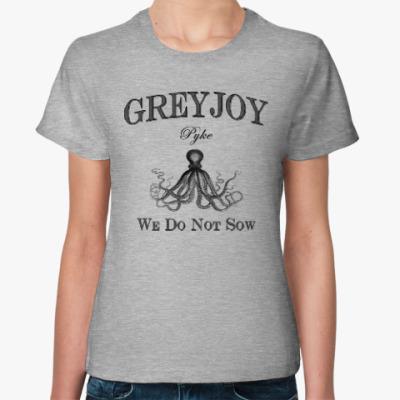 Женская футболка Greyjoy