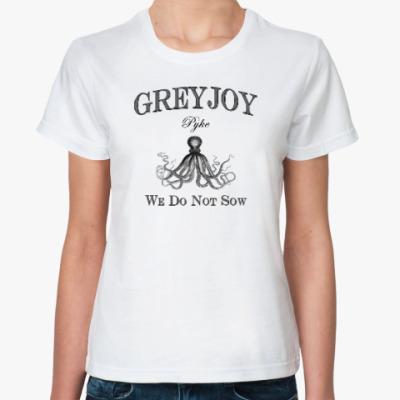 Классическая футболка Greyjoy
