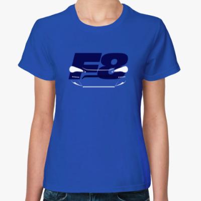 Женская футболка Subaru BRZ Fast and Furious 8