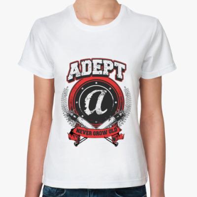 Классическая футболка Adept