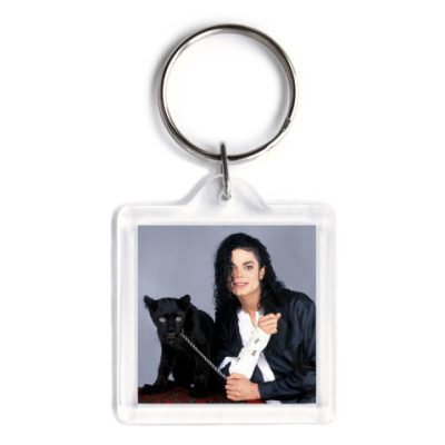 Брелок Майкл Джексон (двухсторон)
