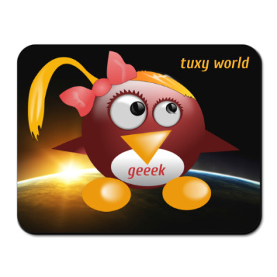 Tuxy world lady