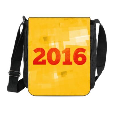 Сумка на плечо (мини-планшет) Год Огненной Обезьяны 2016