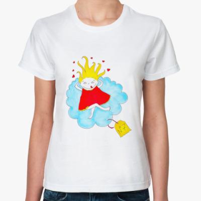 Классическая футболка Про счастье
