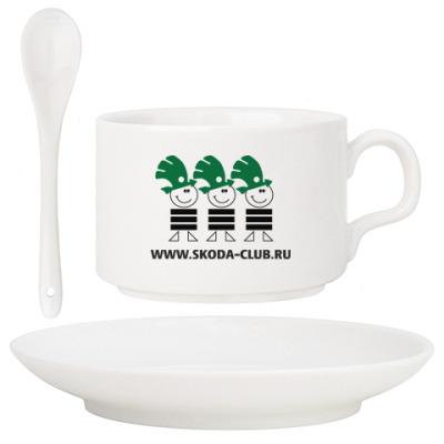Кофейная чашка Skoda-Club (набор)