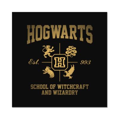 Наклейка (стикер) Hogwarts